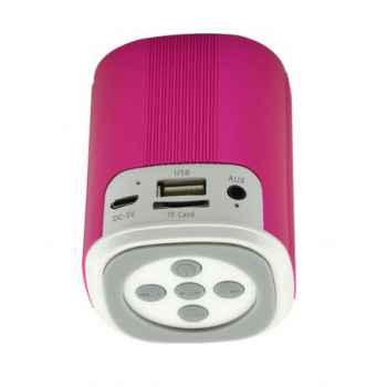 SUNSTECH SPUBT700 Altavoz Inalmbrico Bluetooth Rosa