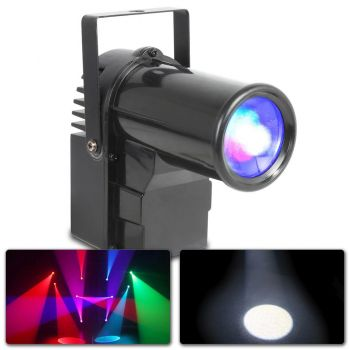 Beamz PS10W Foco Pin LED 10W RGBW DMX 151259