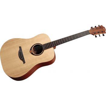 LAG T70A-HIT Guitarra Acustica Auditorium Head Integrated Tuner