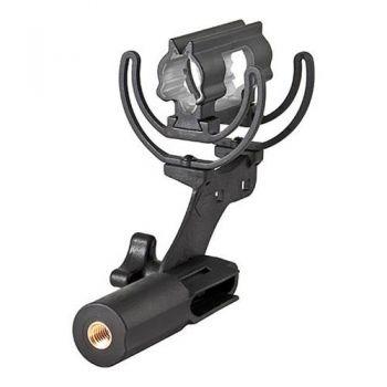 SHURE A89M-CC Pinza Rycote Lyre monteja en cámara para VP89S y VP89M