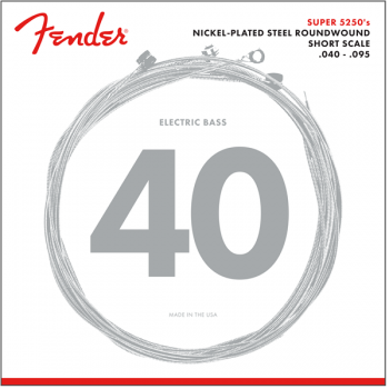 Fender Super 5250 Bass Cuerdas de Niquel Plateado 5250XL .040-.095