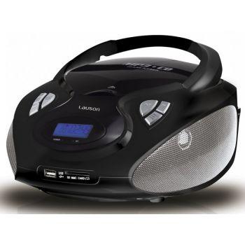 Lauson CP435 Radio CD USB Negro