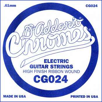 D´addario CG024 Cuerda Suelta para Guitarra Eléctrica