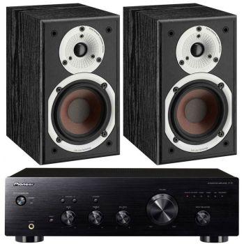 Pioneer A-10AEK + Dali Spektor 1-BK Conjunto audio