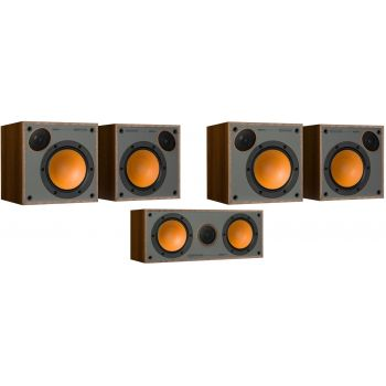 Monitor Audio Monitor 50 Pack 5.0 Walnut Altavoces Home Cinema