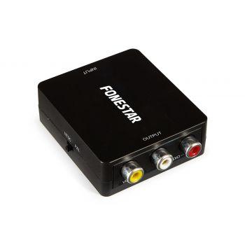 Fonestar FO-44HV Convertidor HDMI a CVBS