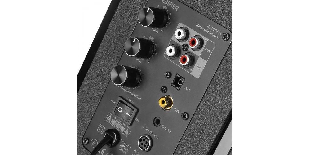 Edifier R1850DB Altavoces Autoamplificados Bluetooth conexiones digitales