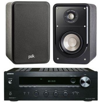 ONKYO TX-8020 B + Polk Audio S15 Conjunto sonido