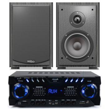 Equipo Hifi Audibax ZERO1000 + Altavoces Wiibo Karino 400 Conjunto audio