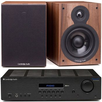 CAMBRIDGE TOPAZ SR-20+SX50 Walnut Conjunto de Sonido