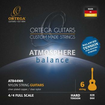 Ortega ATB44NH Juego de Cuerdas para Guitarra Clásica