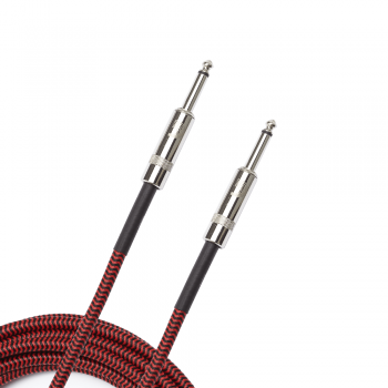 Planet Waves PW-BG-10RD Cable de Guitarra Braided Red 3 Metros