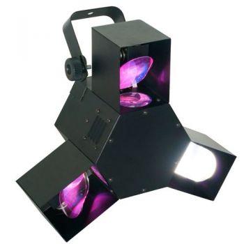 BEAMZ 153406 Efectos Led Centro Triple Flex Pro LED DMX