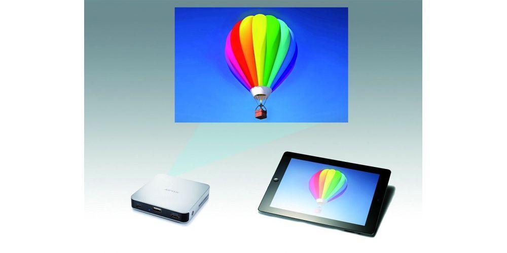 aiptek mobile cinema i70 proyector mini