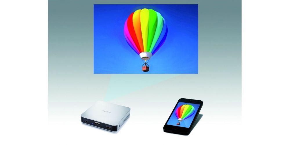 aiptek mobile cinema i70 proyector mini tablet smartphone
