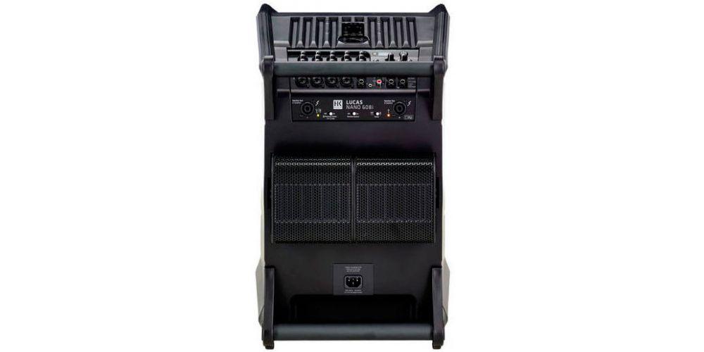 hk audio lucas nano 608i sub trasera
