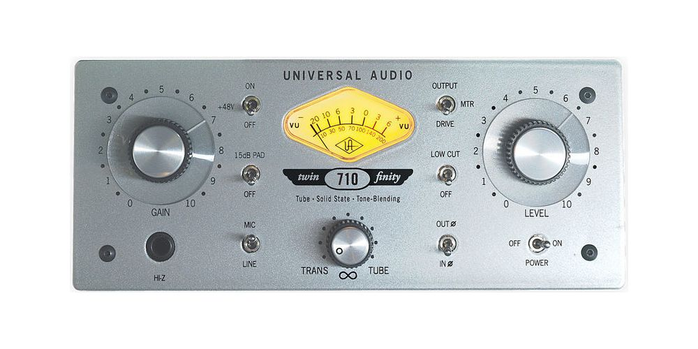 universal audio 710 twin finity frontal