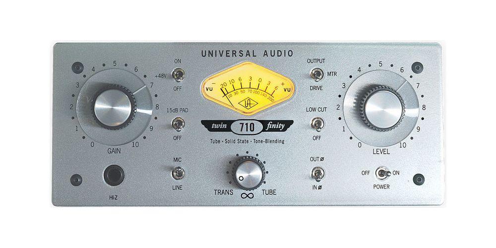 universal audio 710 twin finity frontal