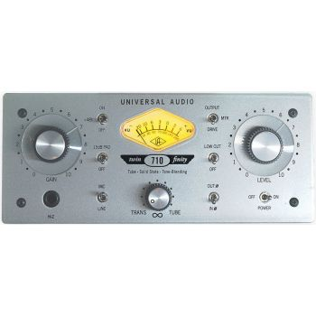 Universal Audio 710 Twin-Finity Pre-amplificador