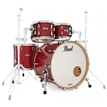 Pearl Masters Maple Complete Inferno Red Sparkle 22