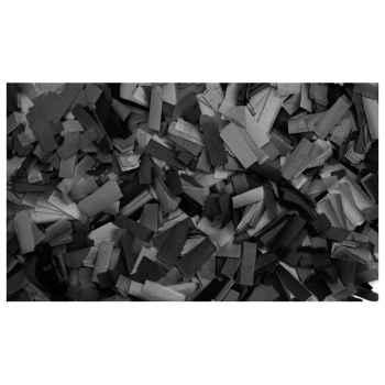 Showtec Show Confetti Rectangle 55 x 17mm Black 1Kg Negro 60910B