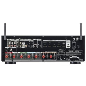 DENON AVR-X1400H + Cambridge SX50 Walnut Cinema Pack 5.1