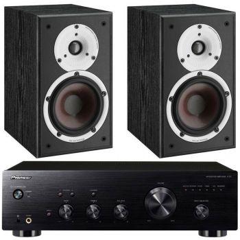 Pioneer A-20 K+Dali Spektor 1 Bk  Conjunto Audio