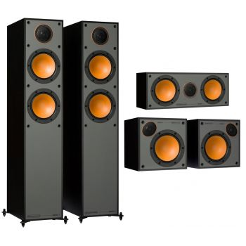Monitor Audio Monitor 200 Pack 5.0 Black  Altavoces Home Cinema