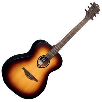 LAG T70A-BRB Guitarra Acústica Tipo Auditorium Acabado Brown Burst