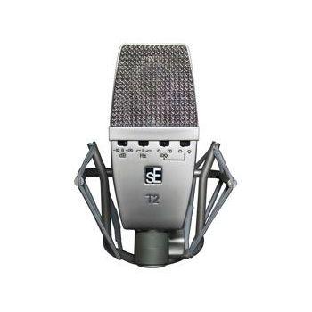sE Electronics Micrófono de condensador gran diafragma T2