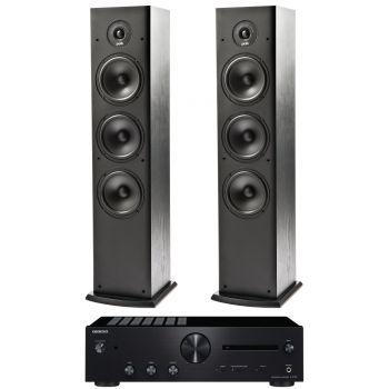 ONKYO A-9130-B+Polk Audio T50 conjunto sonido