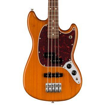 Fender Player Mustang Bass PJ PF Aged Natural