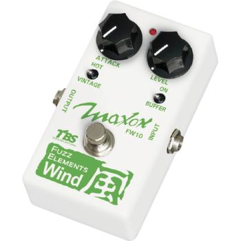Maxon FW-10 Fuzz Elements Wind Pedal Efectos Guitarra