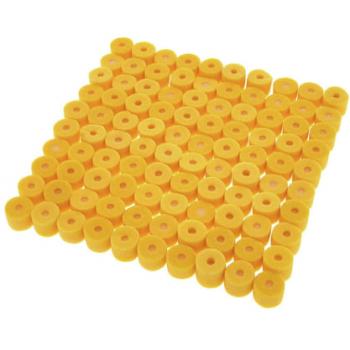 SHURE EAYLF1-100 Kit 100 Almohadillas Espuma para Earphones. Color amarillo.