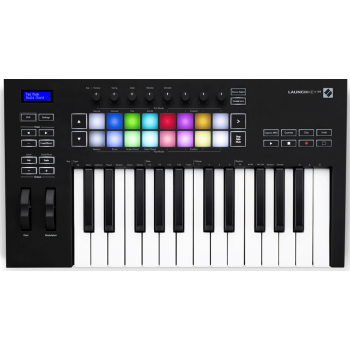Novation Launchkey 25 MK3 Teclado Controlador MIDI de 25 Mini Teclas