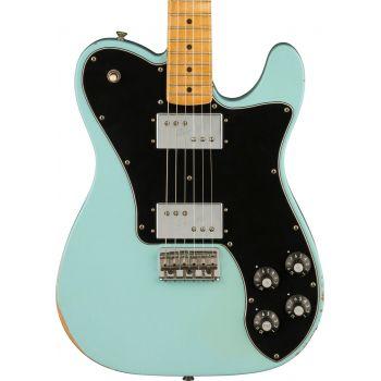 Fender Road Worn 70s Telecaster Deluxe MN Daphne Blue