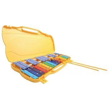 Gewa Xilofono cromático Carrillón Infantil Yellow con Estuche 847002