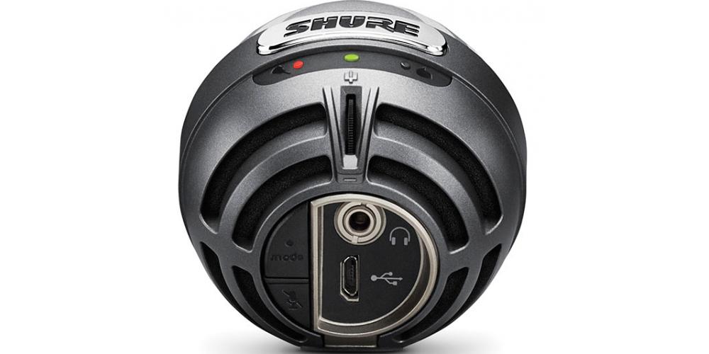 SHURE MV5 DIG Microfono Digital Condensador Gris Cable Lightning