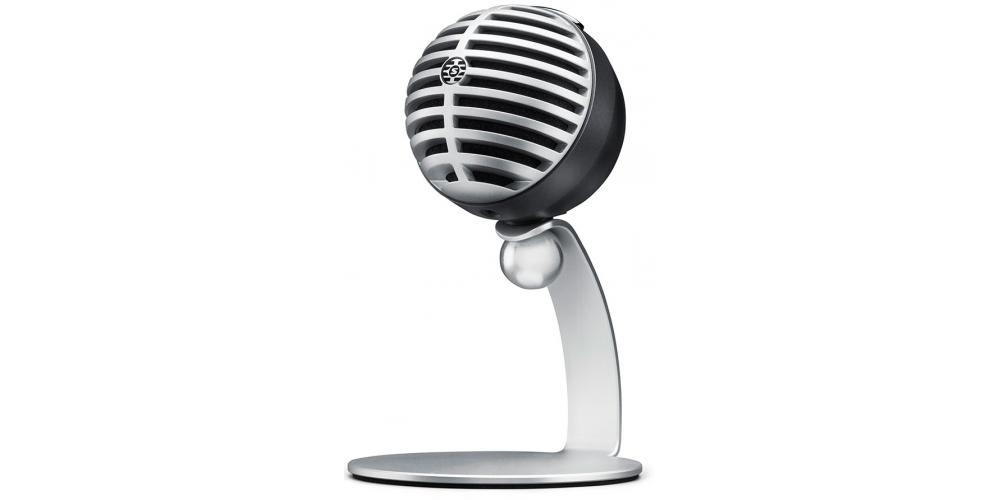 SHURE MV5 DIG Microfono Digital Condensador Gris con Cable Lightning