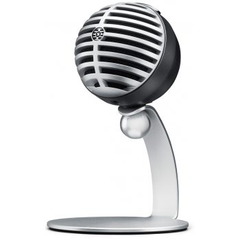 SHURE MV5-DIG Micrófono Digital de Condensador Gris con Cable Lightning