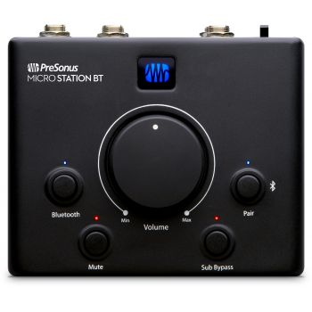 Presonus MICROSTATION BT Control de Monitores Bluetooth