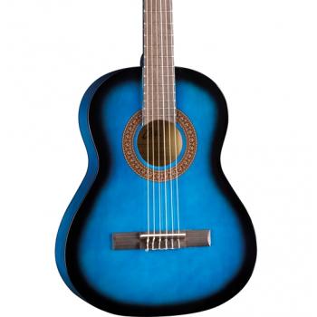 Eko CS-5 Blue Burst Guitarra Clasica