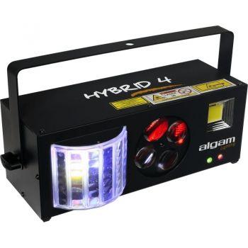 Algam Lighting HYBRID 4 Proyector 4 en 1