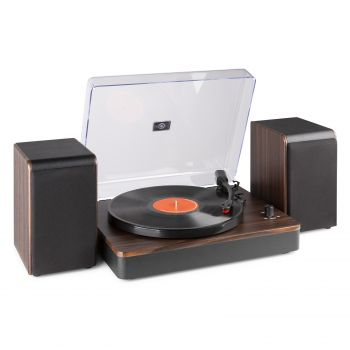 audizio RP330D Giradiscos Bluetooth con Amplificador y Altavoces