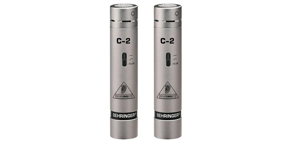 BEHRINGER C2 Microfono de Condensador Studio Behringer Pareja