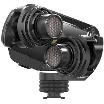 Rode Stereo VideoMic X Micrófono estéreo de broadcast para cámara