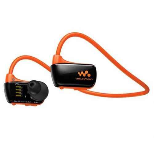 sony nwz273sd mp3 acuatico naranja