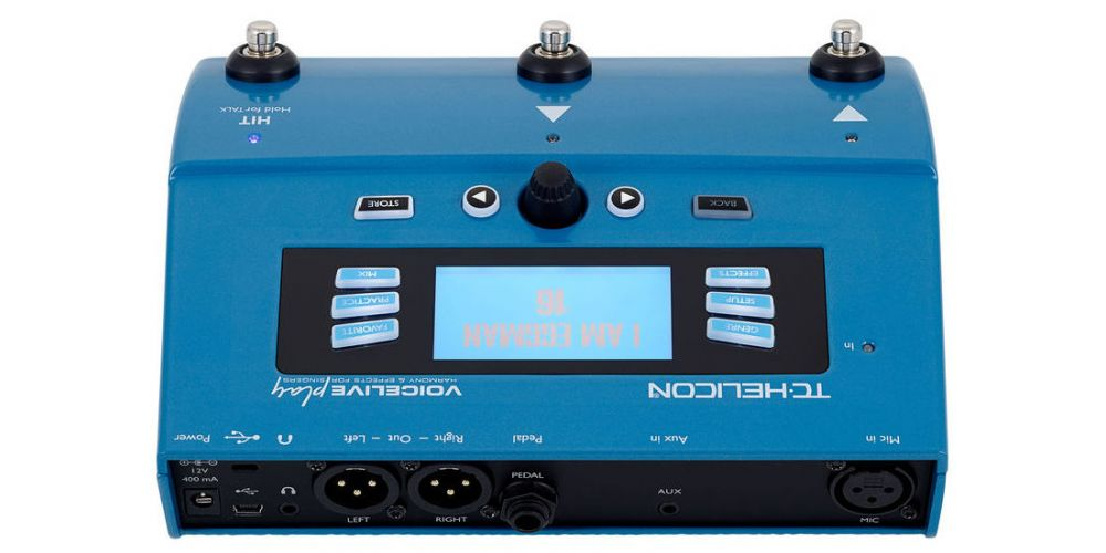 TC helicon VoiceLive Play back