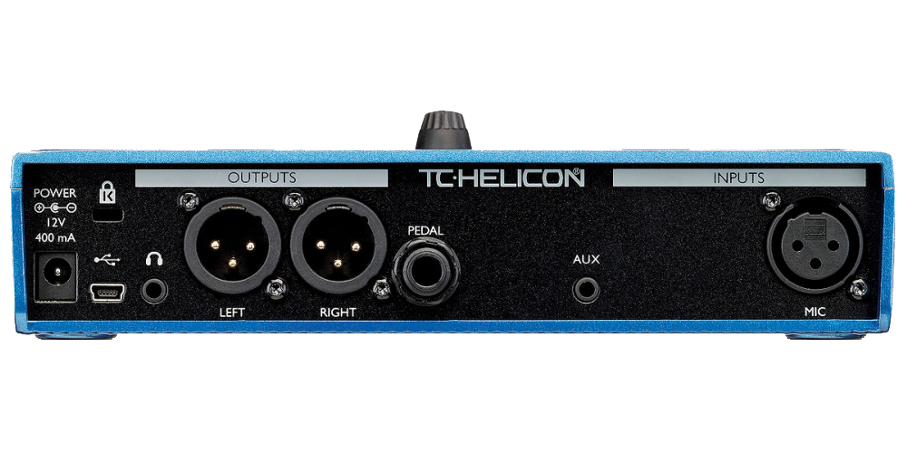 tc helicon voicelive play pedal efectos