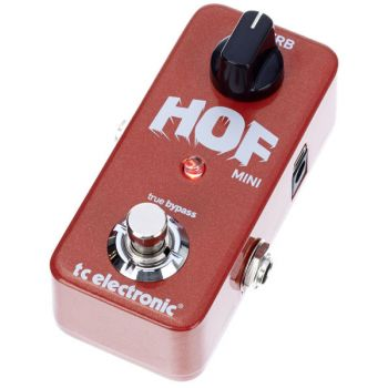 TC Electronic Hall of Fame HOF Mini Reverb Pedal